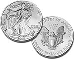 UNC. Silver Eagle 1oz. (*UNCIRCULATED, MS69, & MS70*)
