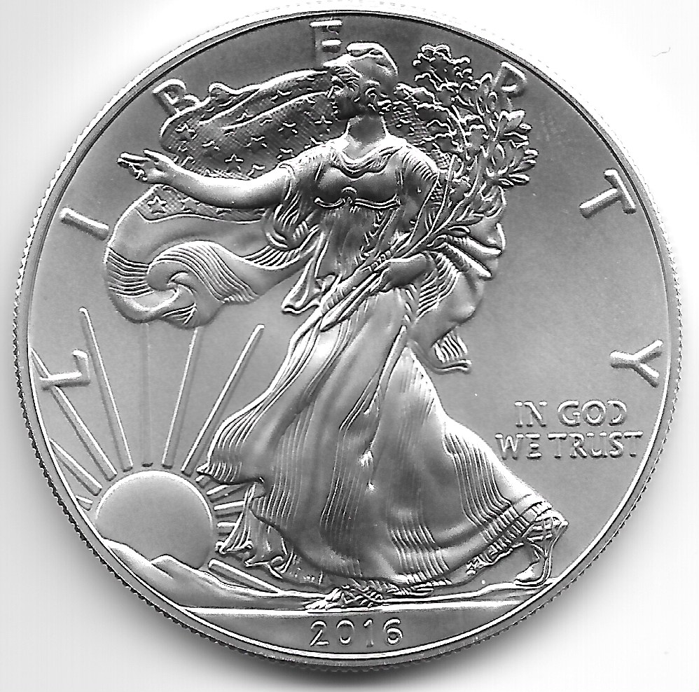 2016 Silver Eagle Uncirculated